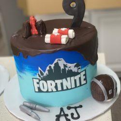 Fortnite birthday cakes, custom birthday cakes dallas