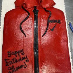 Nike Jacket Birthday Cake | Nike Cakes | That's The Cake Bakery