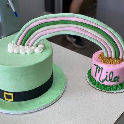 St Patricks Day Rainbow | Specialty Bakery | Custom cakes | Dallas cake bakery | thats the cake