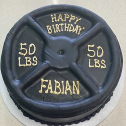 Weight Lifting Cake   50lbs Cakes   Dallas Bakery   Fort Worth Bakery