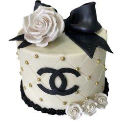 Chanel birthday cake, custom birthday cakes in dallas