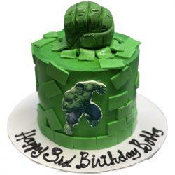 Hulk Fist Cake   Birthday Cakes Dallas   That's The Cake   Fort Worth Bakery
