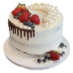 Naked & Fresh Fruit Cake   Birthday Cake   Dallas Bakery   That's The Cake