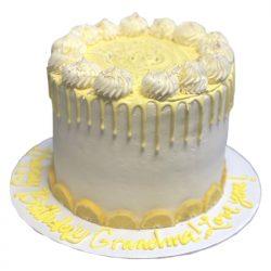 lemon birthday cake, signature lemon cake