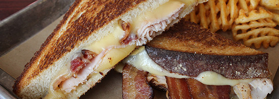 Try our phenomenal grilled cheese sandwiches today!