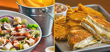 Whether you want salad or a grilled cheese sandwich, we have the best! Visit today!