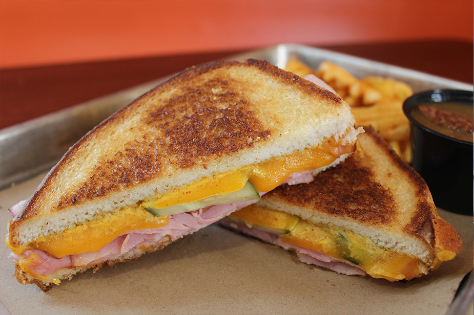 Visit any of our three local restaurants for the best grilled cheese!