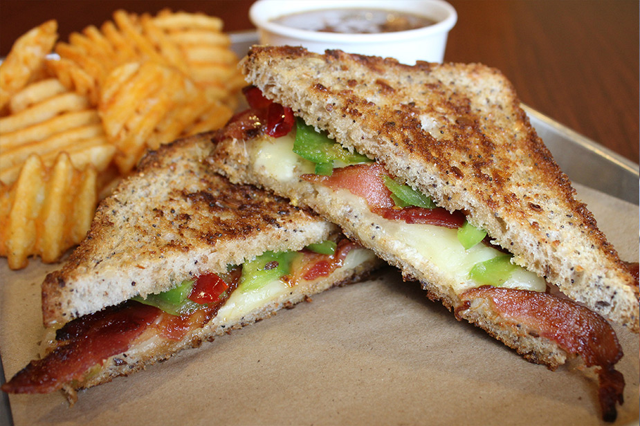 Explore the world of tastes we've created at our grilled cheese restaurant!
