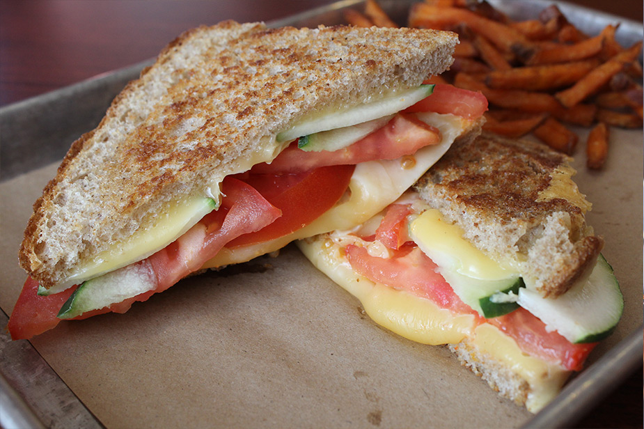 Indulge your taste buds at our grilled cheese restaurant today!