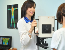 Dr. Hillary Smith Breast Thermography Scan
