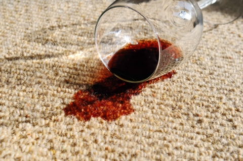 Our carpet cleaners in Sacramento can help you remove red wine stains and all other dirt and debris from your carpet.