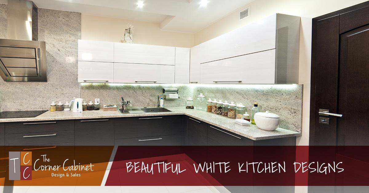 Beautiful White Kitchen Make Your Kitchen Sparkle And