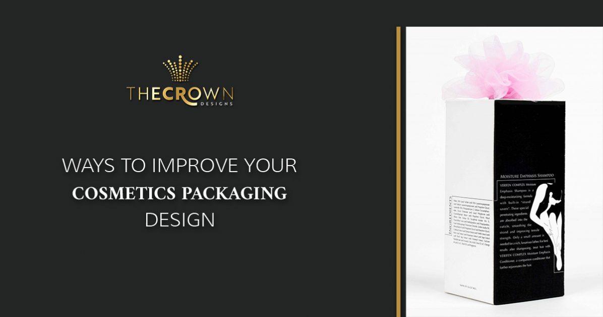 Cosmetics Packaging Design Newark : Ways to Improve Your