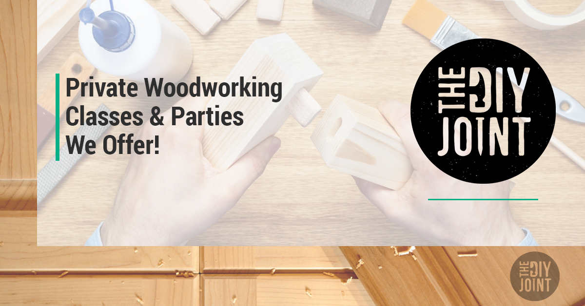Private Woodworking Classes Parties Nj Ny The Diy Joint