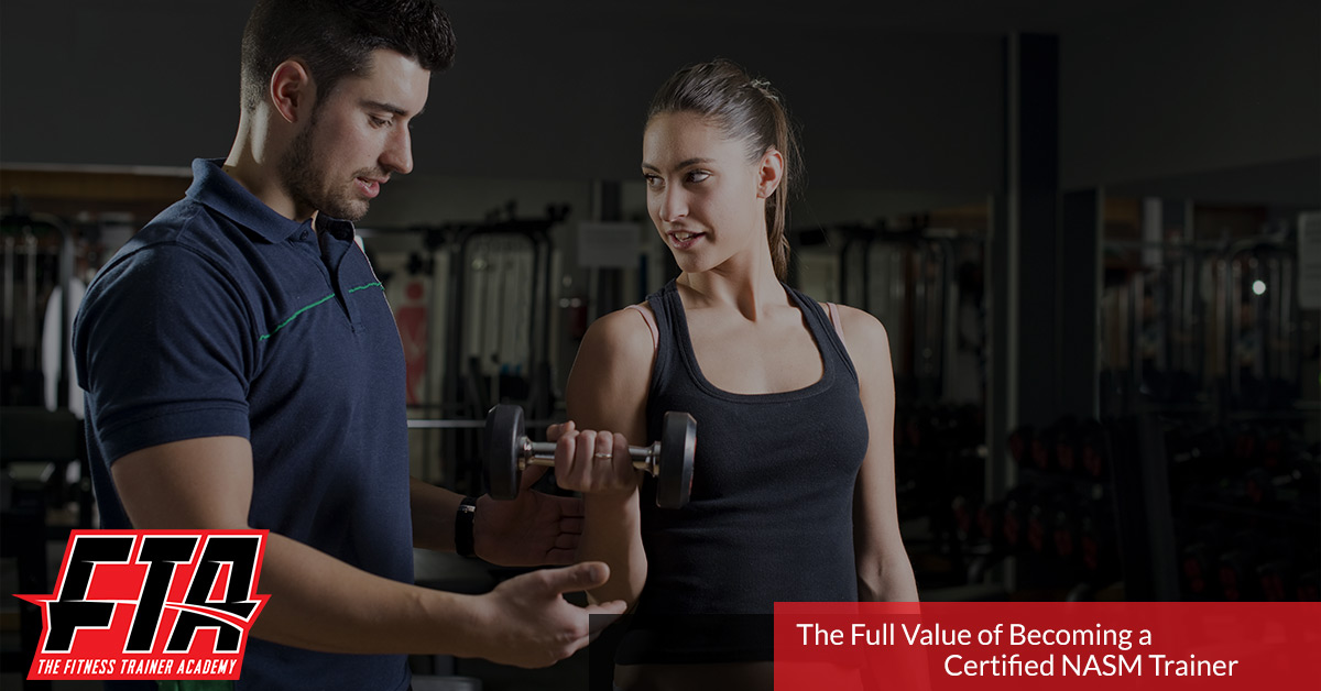 Personal Trainer Certification Houston Succeed When Nasm Certified