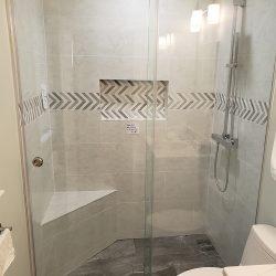 Glass shower doors in Maryland