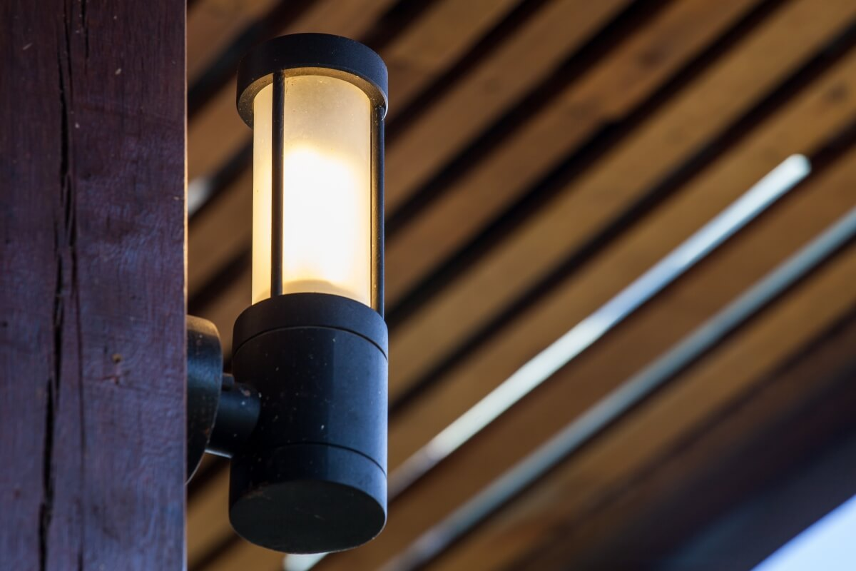 picture of exterior light