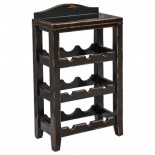 Wooden Wine Rack from House of Lights