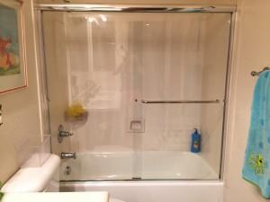 Shower door kids