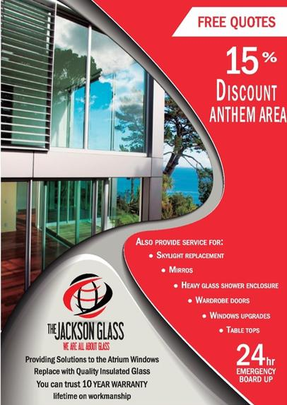 Professional glass installation Phoenix, AZ