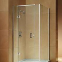 Freestanding glass shower