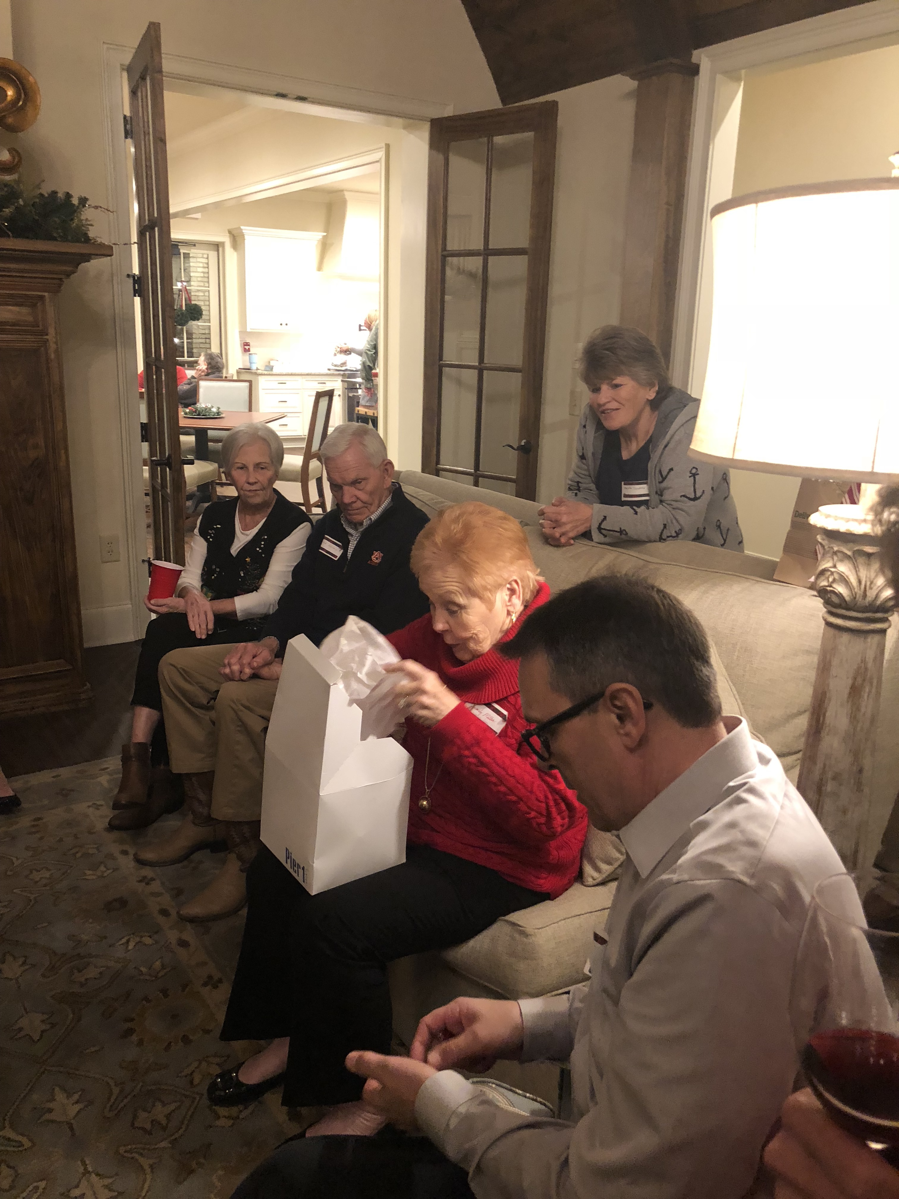 the legacy at cary creek 55+ christmas party