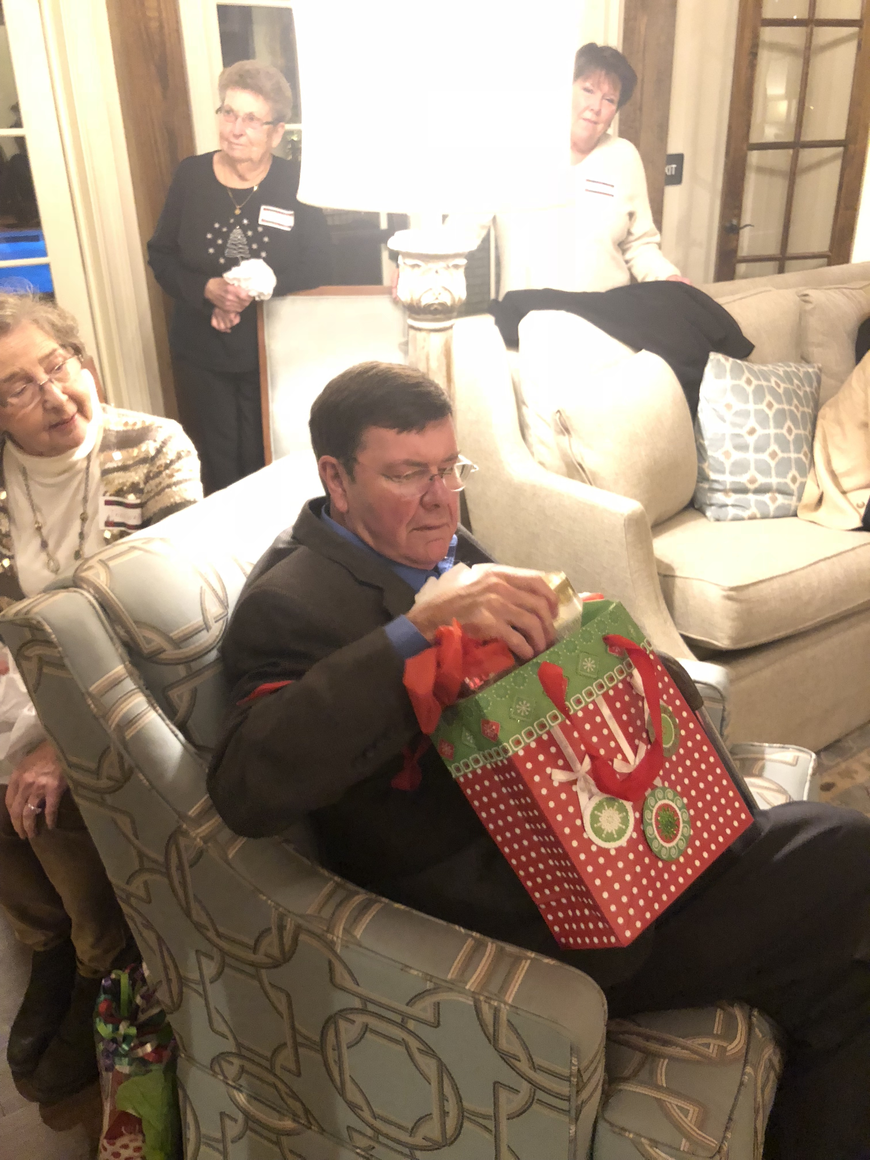 55+ christmas party at the legacy at cary creek
