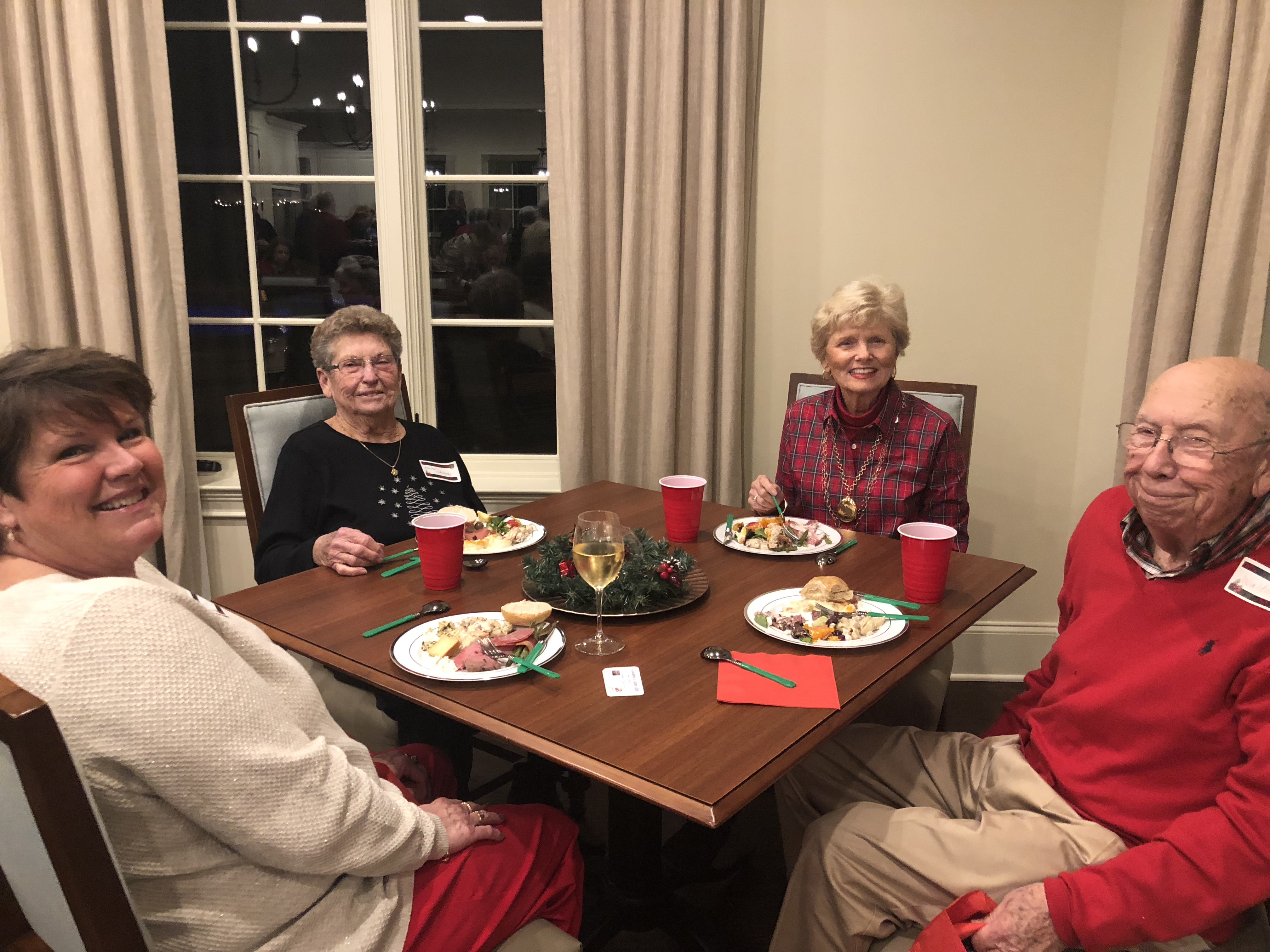 christmas party for active adults in auburn opelika al