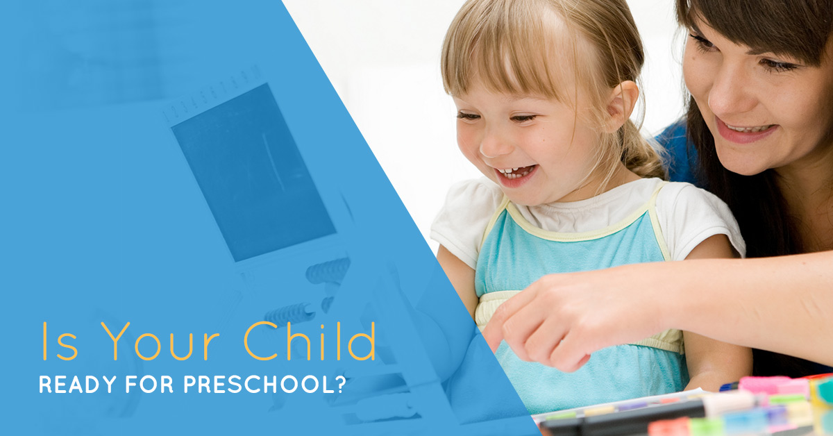 is your child ready for preschool
