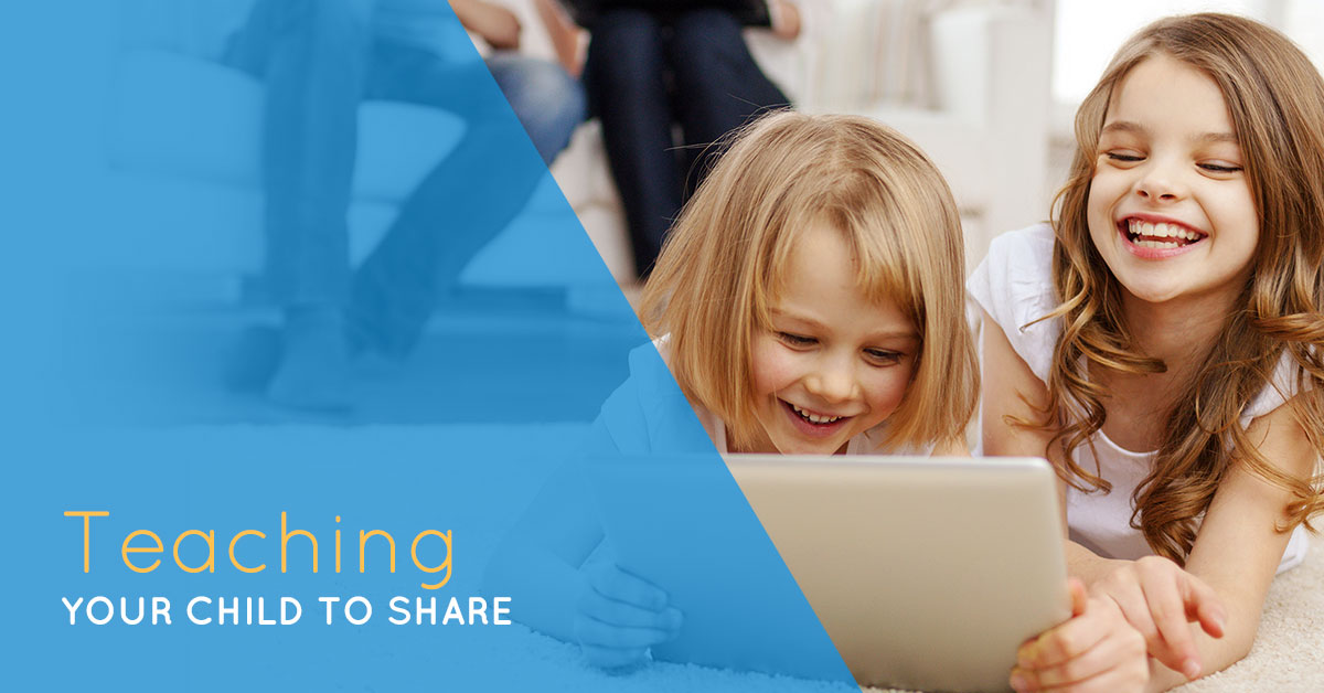 Teaching your child to share
