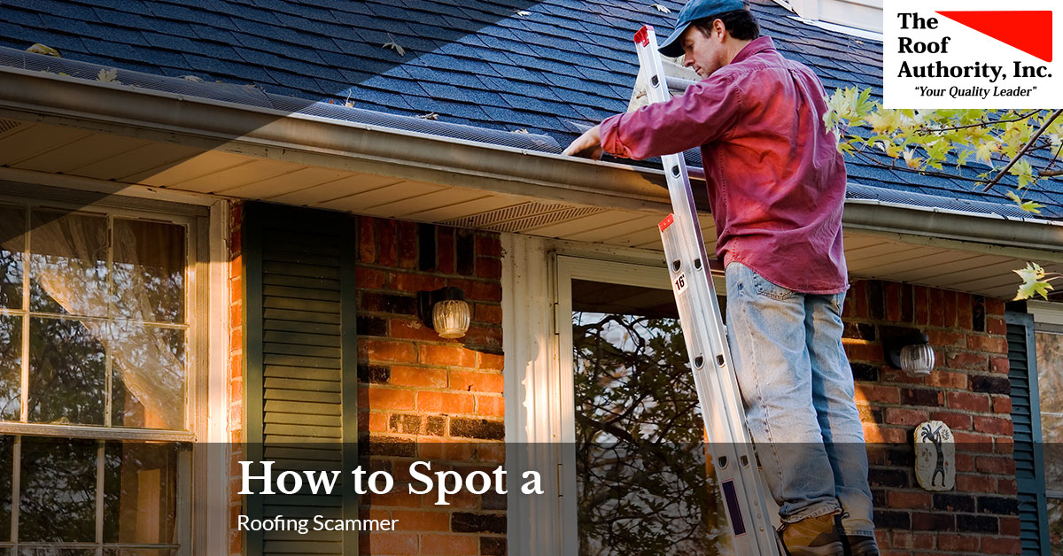 How you can spot a roofing scam