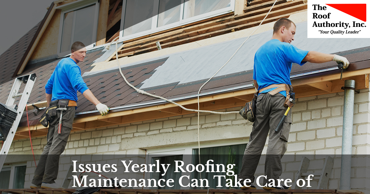 How yearly roofing maintenance can help your home