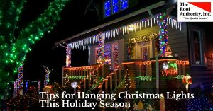 Tips for hanging Christmas lights this holiday season