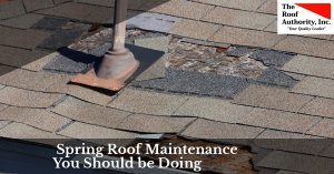 The spring roof maintenance your house needs
