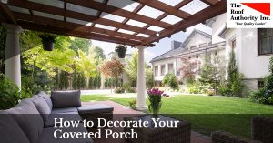 Ways to decorate your covered porch