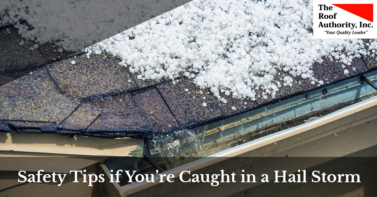 Safety tips to save you if you're ever caught in a hail storm