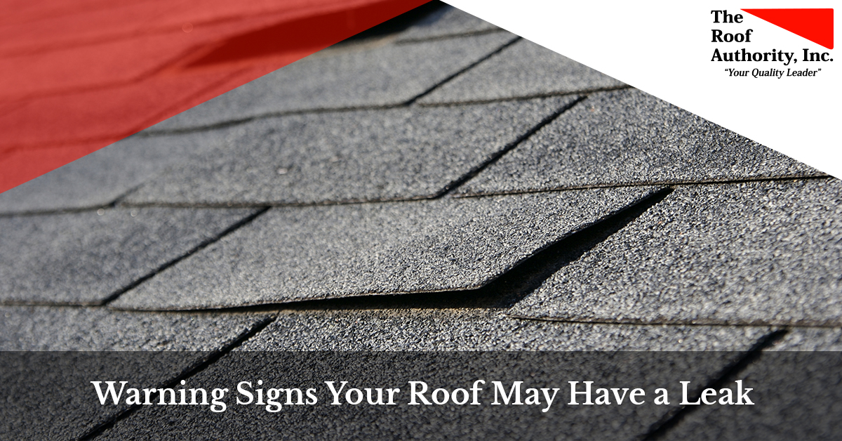 The warning signs that say your roof may have a leak