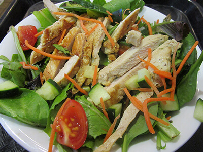 Grilled Chicken Salad-Starving Actor