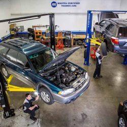 Auto Shop Bays