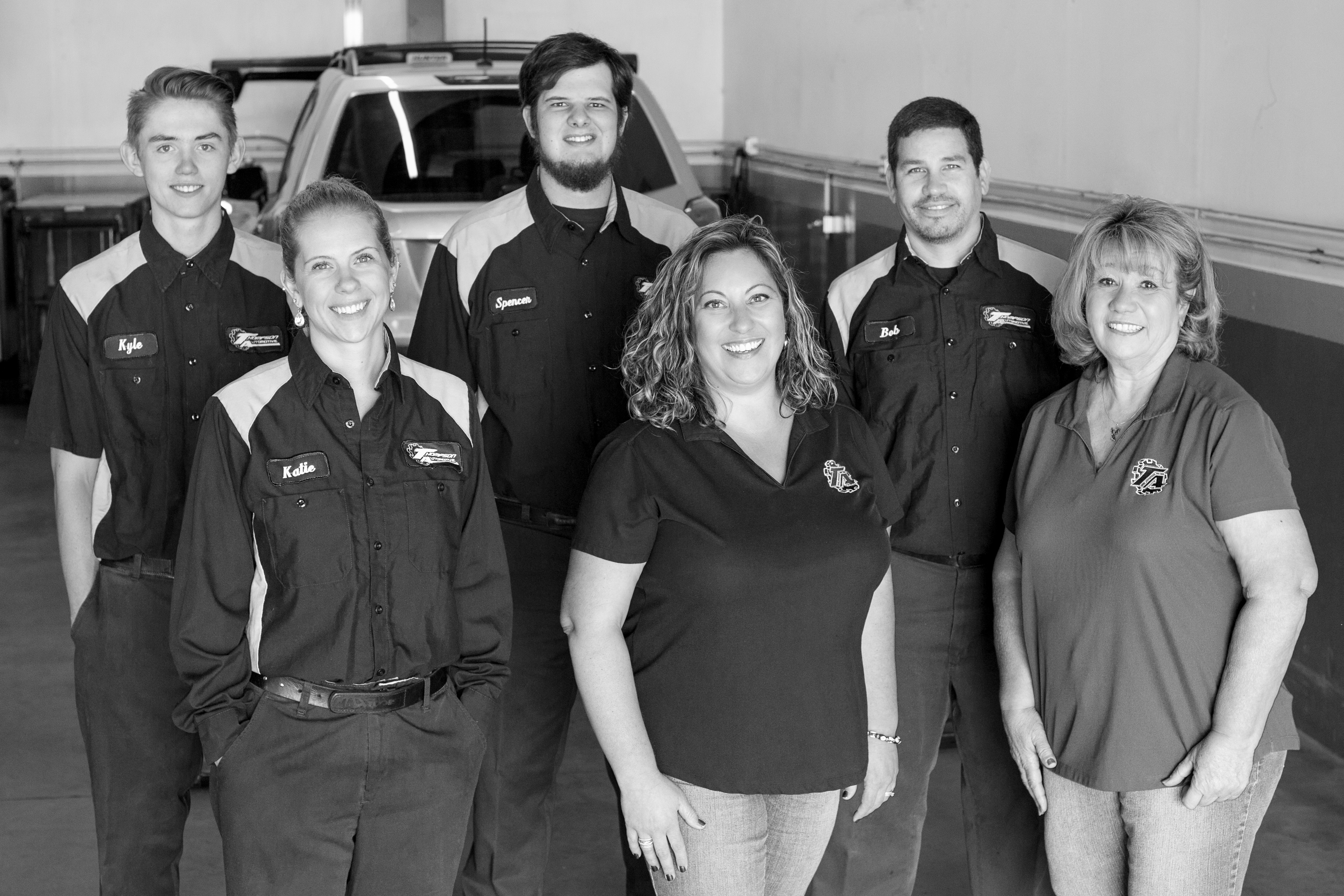 The Crew of Thompson Automotive