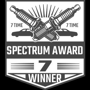 Spectrum Award Winner Badge