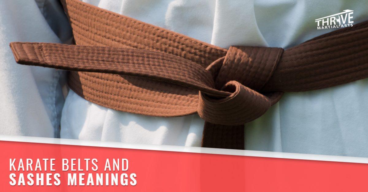 Karate Windsor  Belt and Sash Color Meanings.   e95c11d03