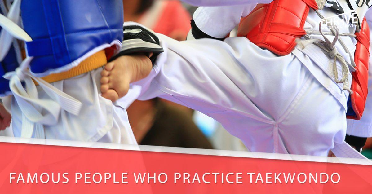 famous taekwondo people