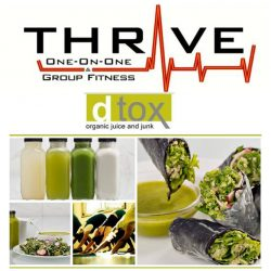 You are what you eat – call Thrive Fitness for premier nutritionists.