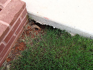 Soil washout can result in empty space beneath your concrete slab, unable to support it. This can lead to cracks and sinking over time.