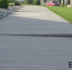 sunken sidewalk