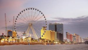 Image of Myrtle Beach, South Carolina, a city our HVAC company operates out of.