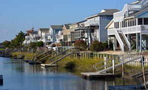 Pictured here is Sunset Beach, North Carolina, a city our HVAC company serves