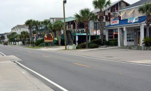 Pictured here is Surfside Beach, South Carolina, a city where HVAC services are important