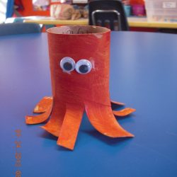 Toddler Town Chicago Paper Roll Octopus